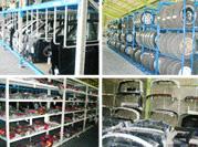 解体工程 国内・海外向けリパーツ商品