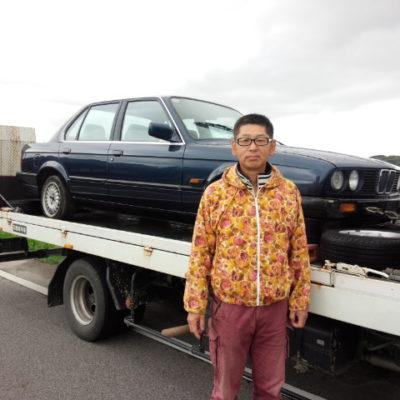 買取実績 BMW・325i 昭和63年式